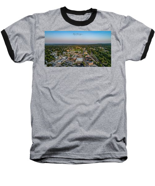 Willimantic Panorama Baseball T-Shirt