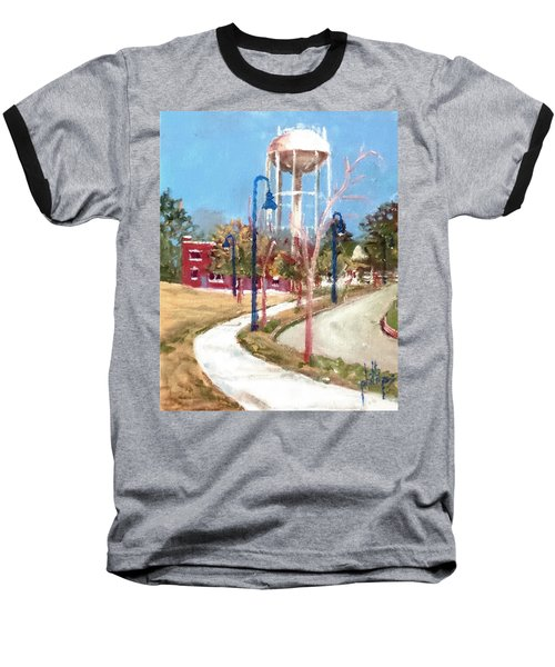 Baseball T-Shirt featuring the painting Willingham Park by Jim Phillips
