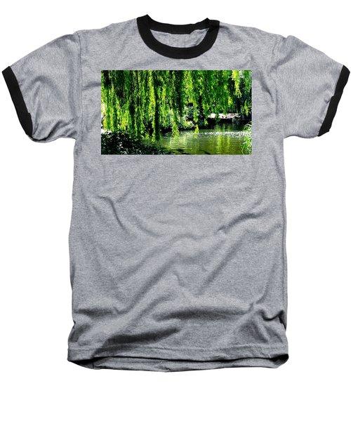 Willow Green Baseball T-Shirt
