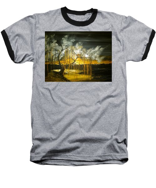 Willow On The Shore Baseball T-Shirt