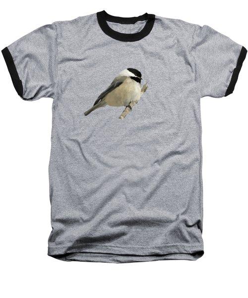 Willow Tit Baseball T-Shirt by Bamalam  Photography