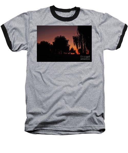 Willow Tree Silhouettes Baseball T-Shirt