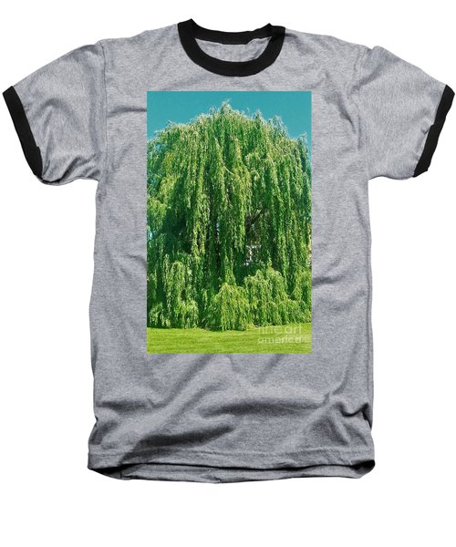 Willow Weep For Me Baseball T-Shirt