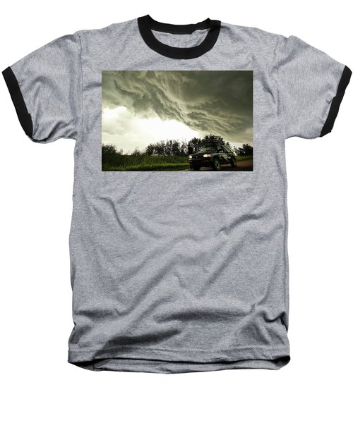 Baseball T-Shirt featuring the photograph Willowbrook Beast by Ryan Crouse