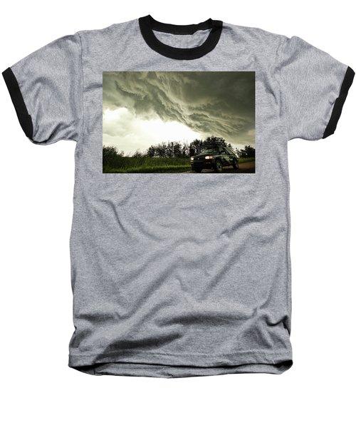 Willowbrook Beast Baseball T-Shirt by Ryan Crouse