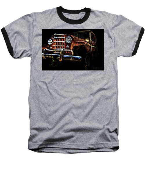 Willy's Station Wagon Baseball T-Shirt