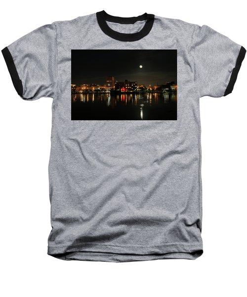 Wilmington Nc At Night Baseball T-Shirt