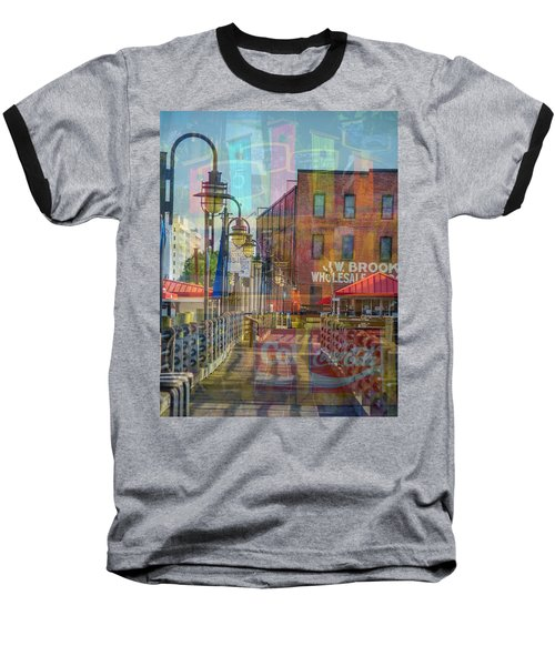 Wilmington North Carolina Riverfront Baseball T-Shirt
