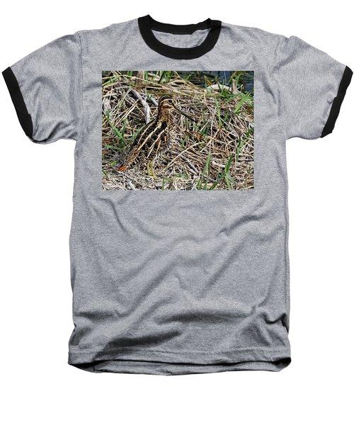 Wilson's Snipe Baseball T-Shirt