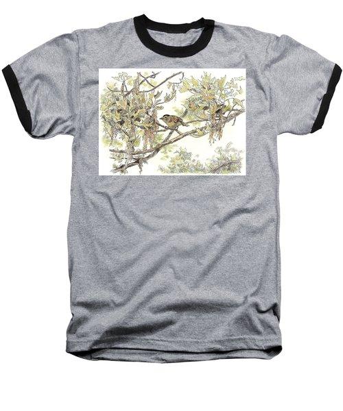 Wilson's Warbler Baseball T-Shirt