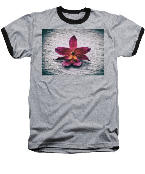 Wilting Orchid  Baseball T-Shirt