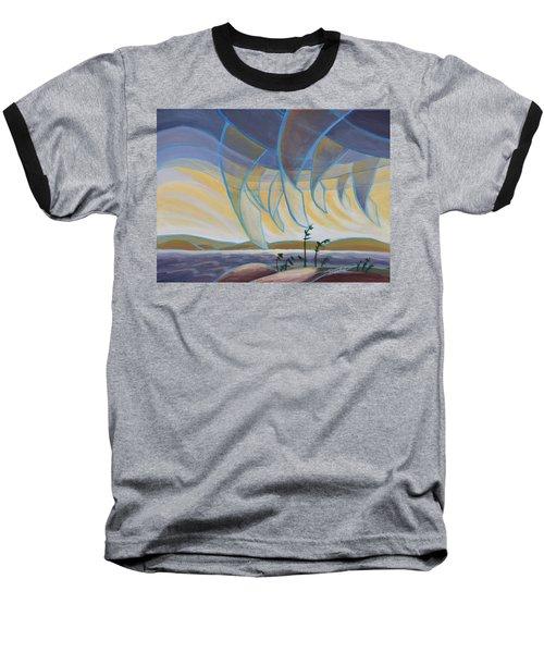 Wind And Rain Baseball T-Shirt