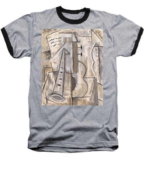 Wind And Strings Baseball T-Shirt