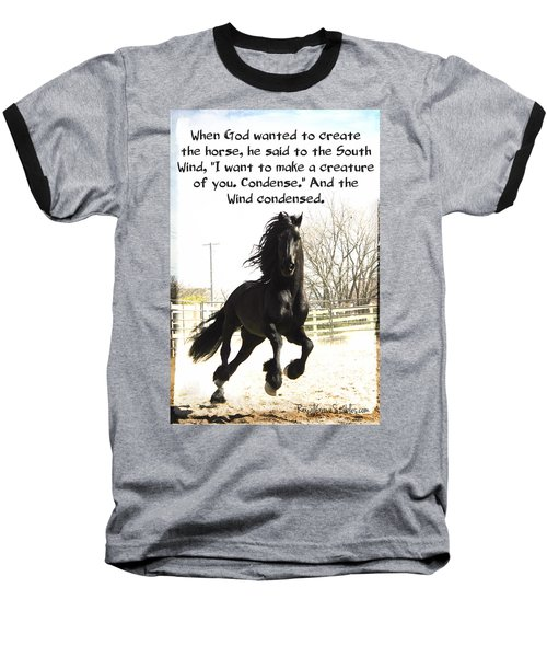 Wind In Your Mist Baseball T-Shirt