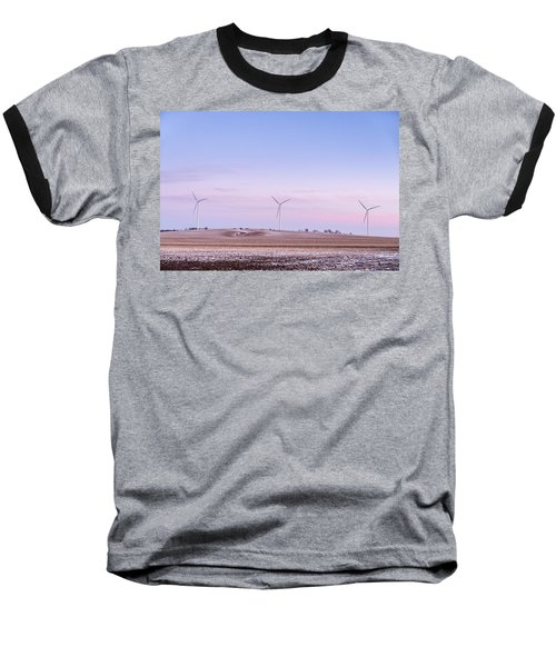 Wind Power Baseball T-Shirt