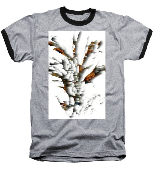 Baseball T-Shirt featuring the painting Wind Series 05.072311windblastscvss by Kris Haas