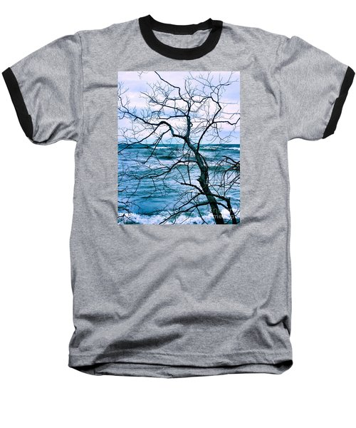 Baseball T-Shirt featuring the photograph Wind Swept by Heather King