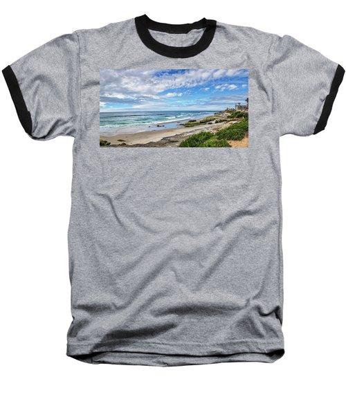 Baseball T-Shirt featuring the photograph Windansea Wonderful by Peter Tellone