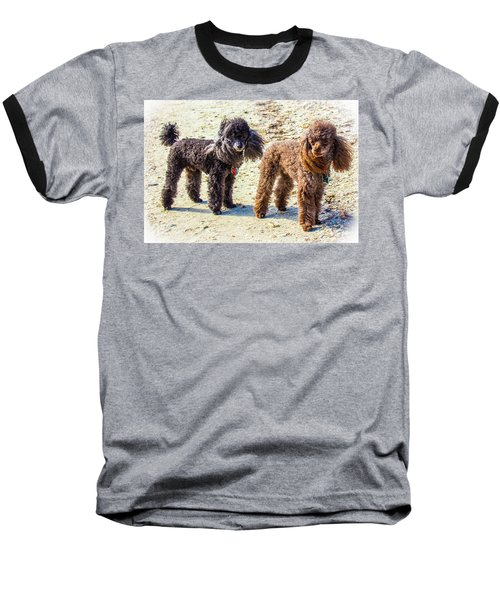 Windblown Beach Bums Baseball T-Shirt