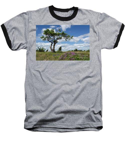 Windblown Baseball T-Shirt by Kennerth and Birgitta Kullman