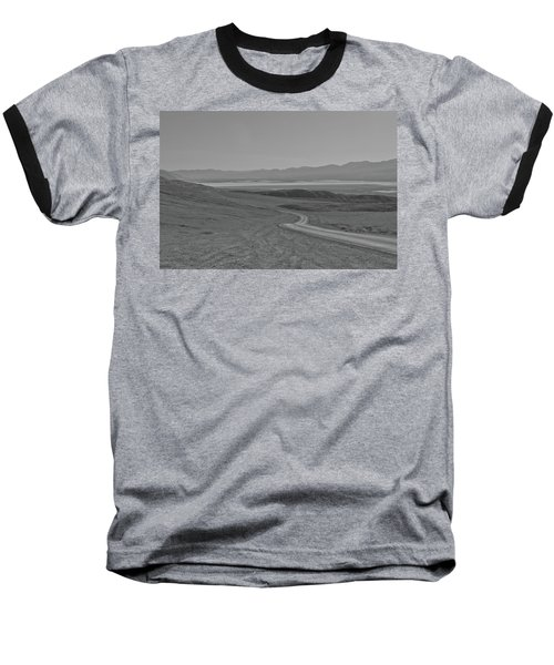 Baseball T-Shirt featuring the photograph Winding Road, Death Valley, California by Frank DiMarco