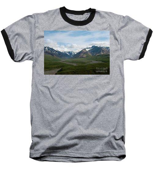 Winding Water Ways Baseball T-Shirt