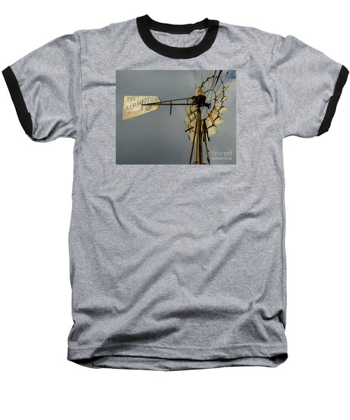 Windmill 1 Baseball T-Shirt