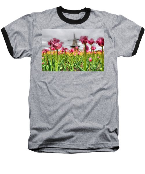 Baseball T-Shirt featuring the photograph Windmill Island by Robert Pearson
