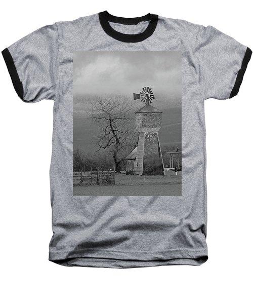 Windmill Of Old Baseball T-Shirt by Suzy Piatt