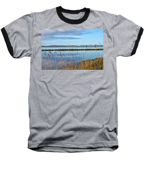 Windmills On A Windless Morning Baseball T-Shirt