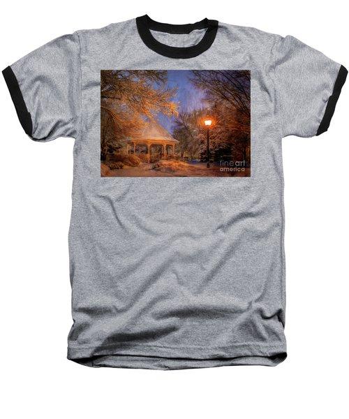 Windom Park Snowstorm Baseball T-Shirt