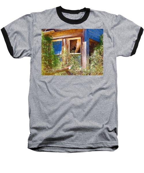 Baseball T-Shirt featuring the photograph Window 2 by Susan Kinney