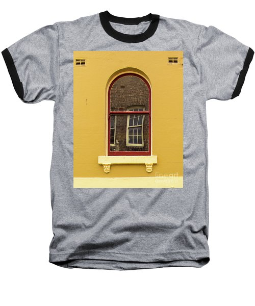Baseball T-Shirt featuring the photograph Window And Window 2 by Perry Webster