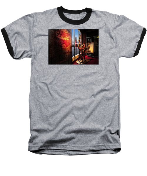Window Art Baseball T-Shirt