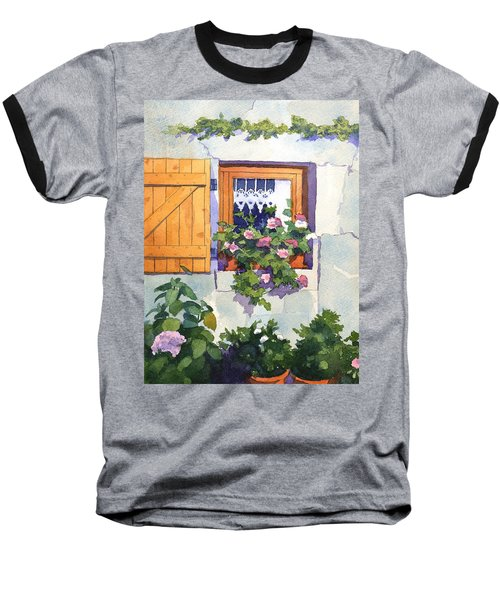 Window At St Saturnin Baseball T-Shirt