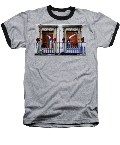 Window Dressing 2 In Florence Italy Baseball T-Shirt