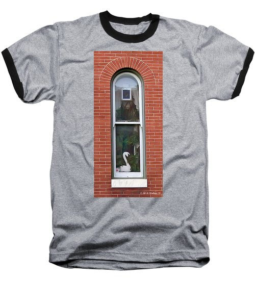 Baseball T-Shirt featuring the photograph Window Dressing by Brian Wallace