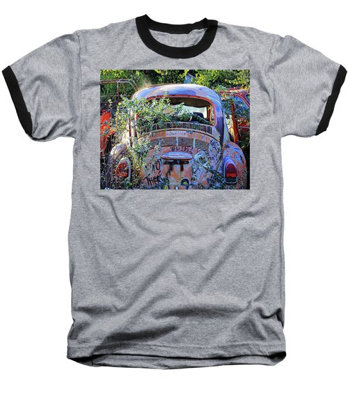 Window Dressing Baseball T-Shirt by Christopher McKenzie
