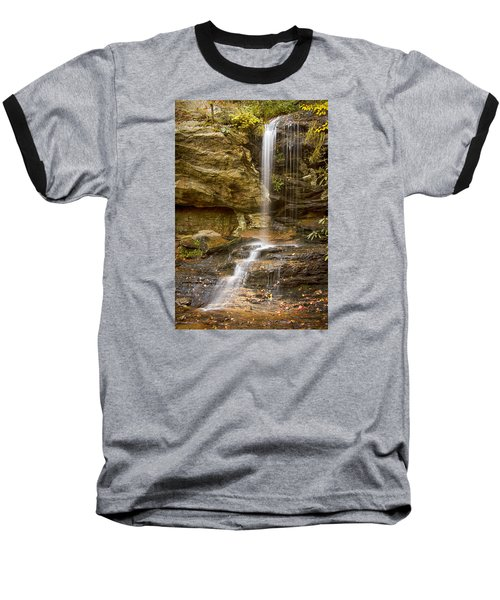 Window Falls In Hanging Rock State Park Baseball T-Shirt