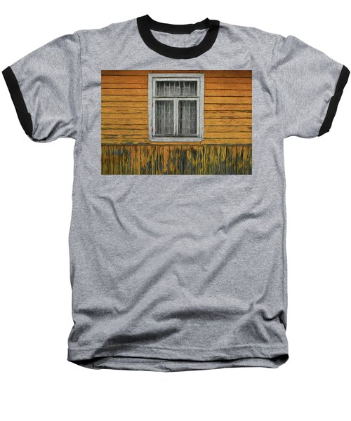 Window In The Old House Baseball T-Shirt