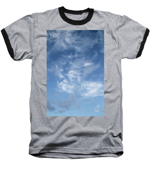 Baseball T-Shirt featuring the photograph Window On The Sky In Israel During The Winter by Yoel Koskas