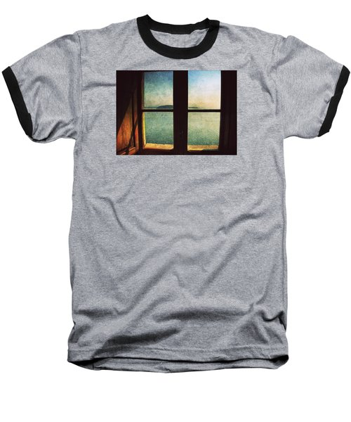 Window Overlooking The Sea Baseball T-Shirt