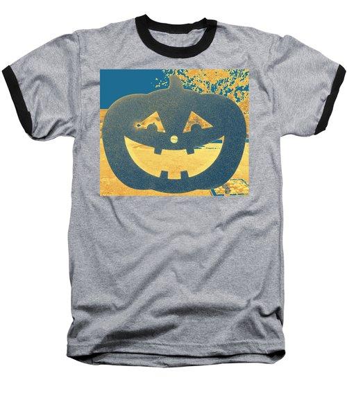 Window Pumpkin #2 Baseball T-Shirt
