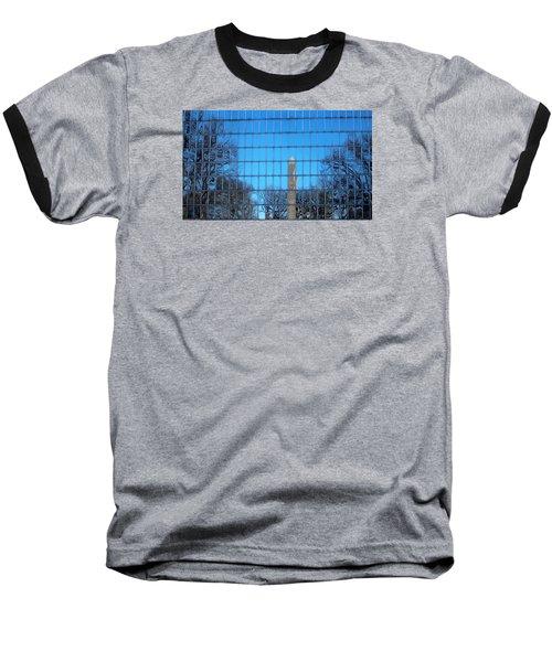 Window Reflection  Baseball T-Shirt by Jewels Blake Hamrick