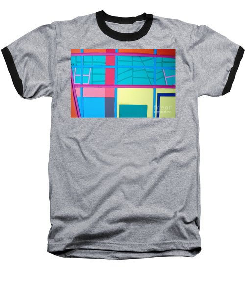 Window Reflections Baseball T-Shirt
