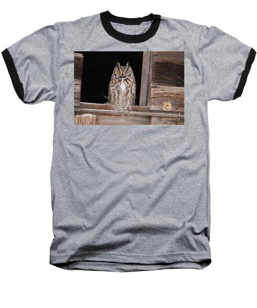 Window Sitting Baseball T-Shirt