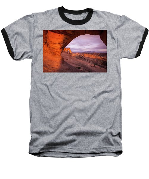 Window To Arch Baseball T-Shirt