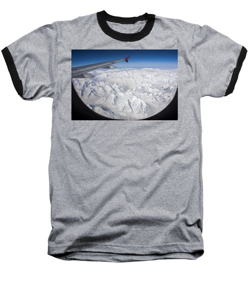 Window To Himalaya Baseball T-Shirt