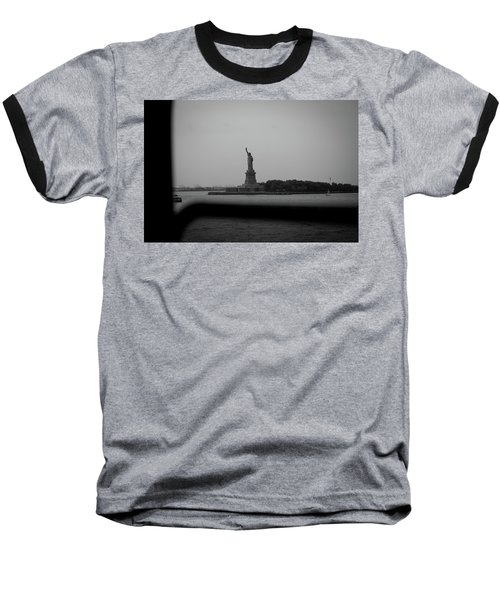 Window To Liberty Baseball T-Shirt