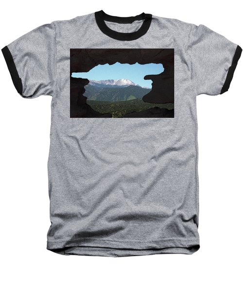 Window To Pikes Peak Baseball T-Shirt